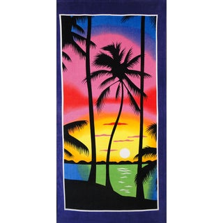 Baltic Linen Night Sky Beach Towel