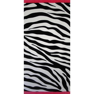 Baltic Linen Zebra Beach Towel