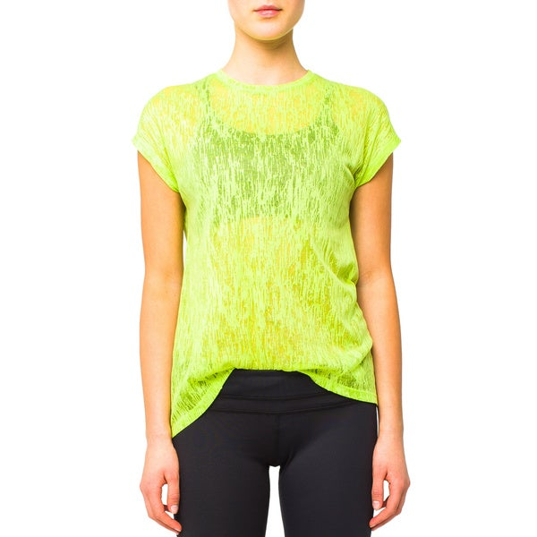 Lija Women's Fern Green Light Layering T-shirt