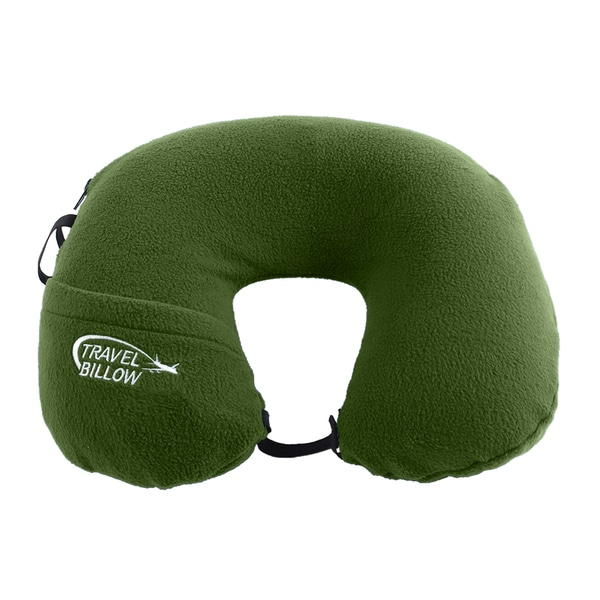 Travel Pillow - Olive Green