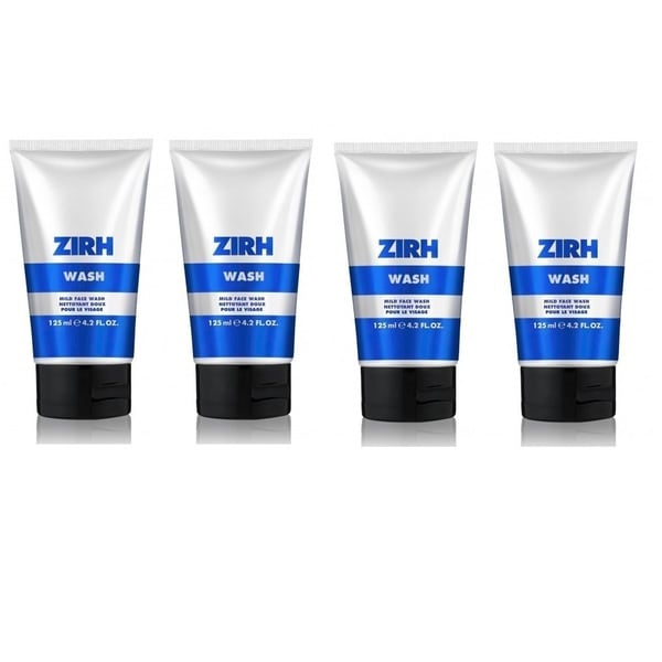 Zirh Wash Mild 4.2-ounce Face Wash (Pack of 4)
