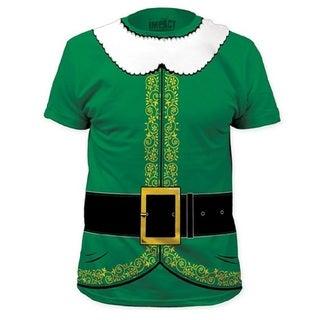 Buddy The Elf T-shirt Green Buddy Christmas Costume