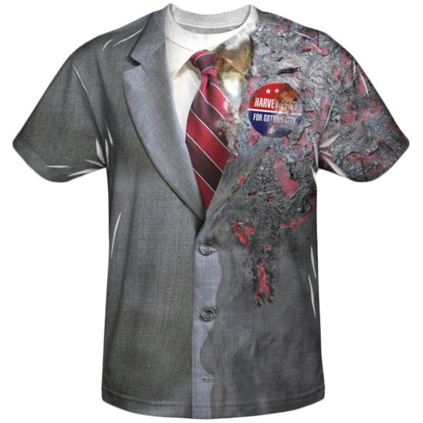 Men's Harvey Dent/ Two Face Costume T-shirt