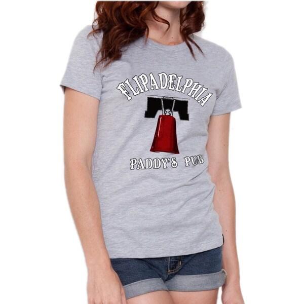 It's Always Sunny in Philadelphia Women's Flipadelphia Paddy's Pub T-shirt