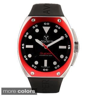 Avio Milano Men's Super Black Dial Date Watch
