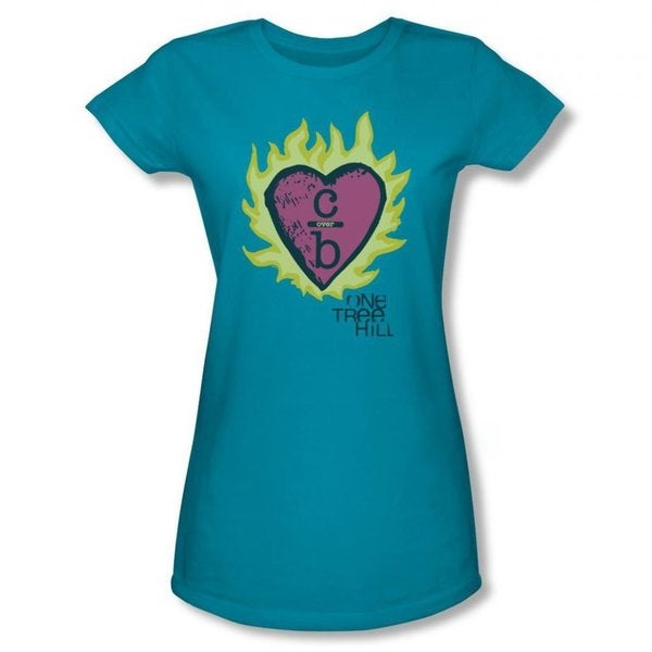 One Tree Hill Women's Clothes Over Bro's Turquoise T-shirt