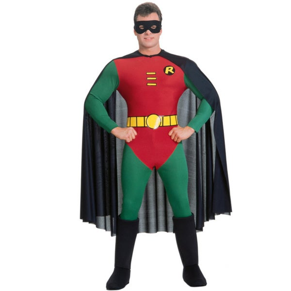 Comic DC Superhero Men's Robin Costume