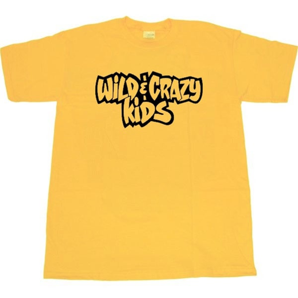 Wild And Crazy Yellow Team T-Shirt