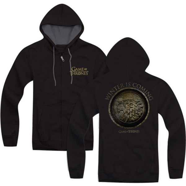 Game Of Thrones Adult Winter Is Coming Zip Up Hoodie