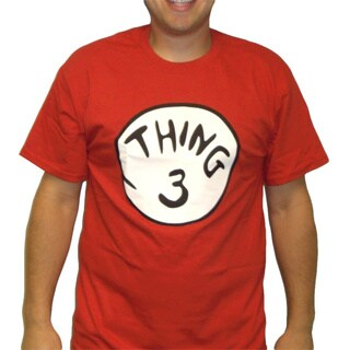 Red 'Thing 3' T-Shirt