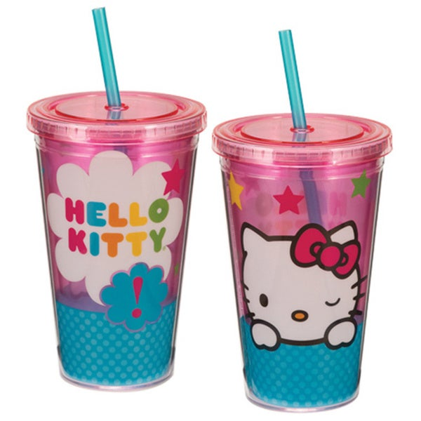 Hello Kitty Stars Acrylic Travel Cup