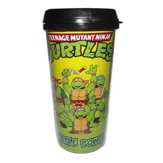 Teenage Mutant Ninja Turtles Turtle Power Travel Coffee Mug