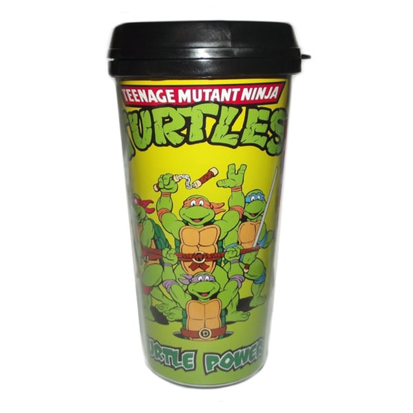 Teenage Mutant Ninja Turtles Turtle Power Travel Coffee Mug