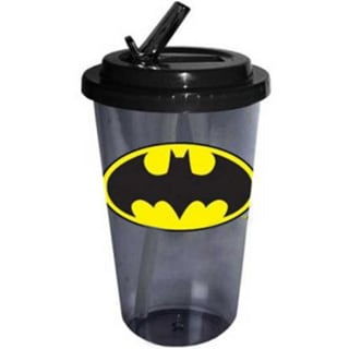 Batman Plastic Travel Flip Straw Cup 14720913