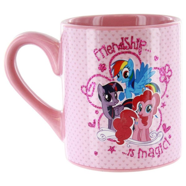 My Little Pony Friendship Is Magic Glitter Coffee Mug 14720915