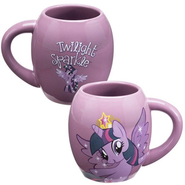 Twilight Sparkle Oval Coffee Mug