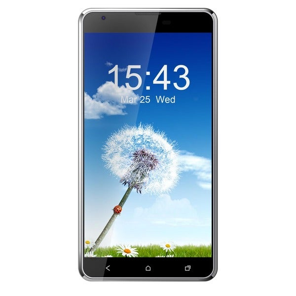 CellAllure Vogue White 4G Unlocked GSM Dual-SIM Android Smartphone