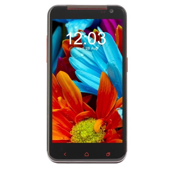 CellAllure Fashion Red 4G Unlocked GSM Dual-SIM Android Smartphone
