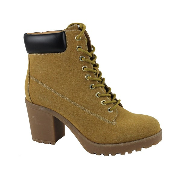 Celebrity NYC Women's Tony Tan Suede Ankle Boot