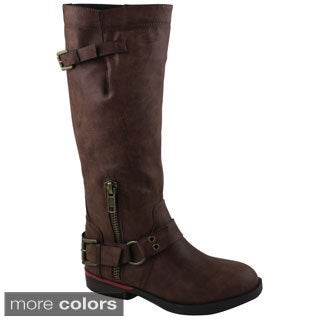 Celebrity NYC Women's Valda Knee High Boot