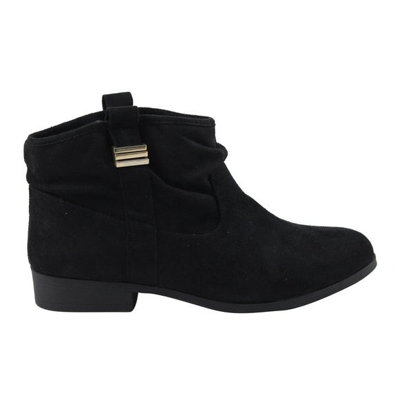 Celebrity NYC Women's Margot Slouchy Western Ankle Boot