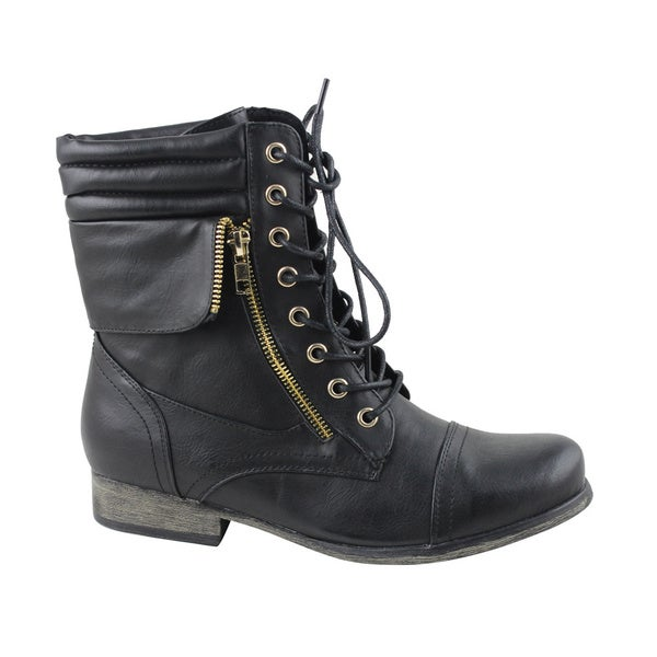 Celebrity NYC Women's Dune Lace-up Boot
