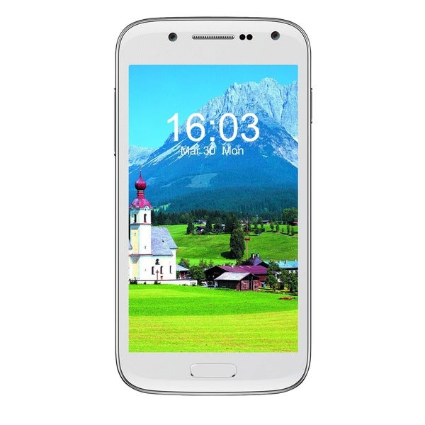 CellAllure Chic Mini White 4G Unlocked GSM Dual-SIM Android Smartphone