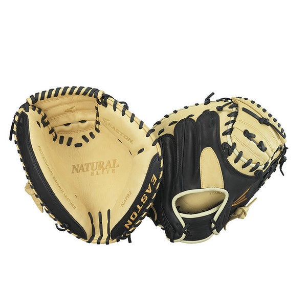 Easton LHT 34-inch Natural Elite Catcher's Mitt
