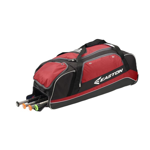 Easton Baseball Catcher's Red Carrying Case