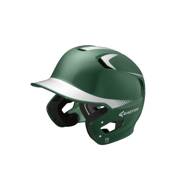 Easton Z5 Grip 2-tone Green/ White Senior Batting Helmet