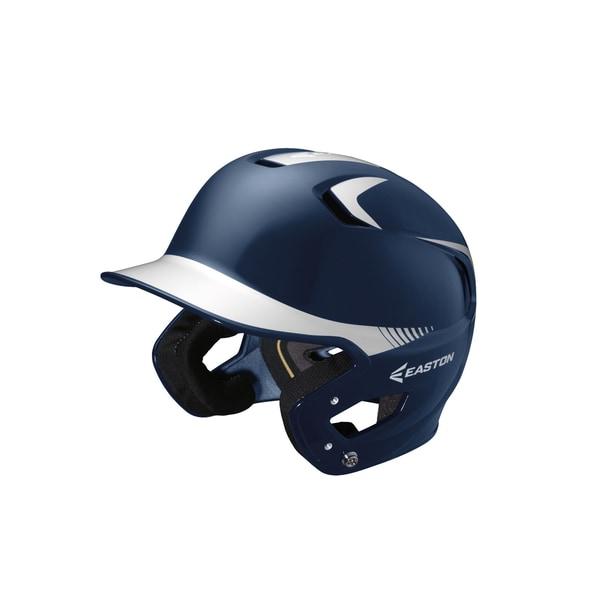Easton Z5 Grip 2-tone Navy/ White Senior Batting Helmet