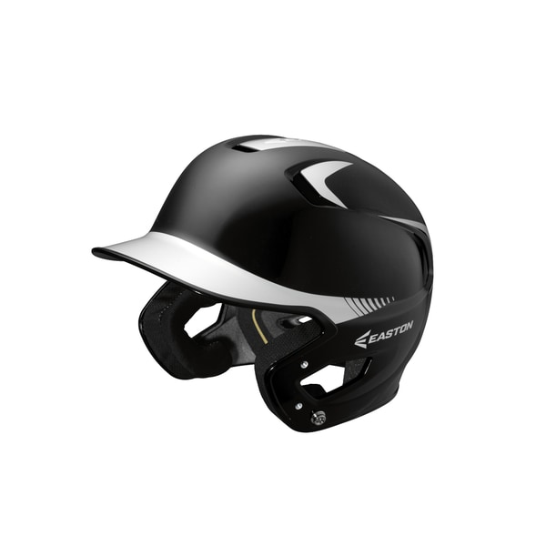 Easton Z5 Grip 2-tone Black/ White Junior Batting Helmet