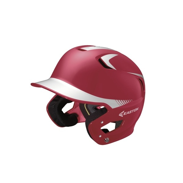 Easton Z5 Grip 2-tone Red/ White Junior Batting Helmet
