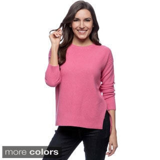 Ply Cashmere Women's Crew Neck Pull-over Sweater