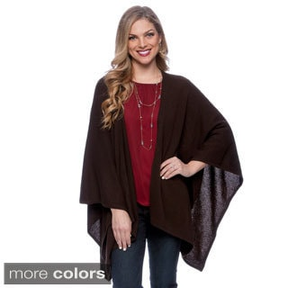 Ply Cashmere Women's Open Drape Shawl