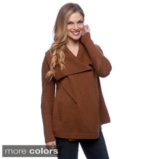 Ply Cashmere Women's Single Button Shawl-collar Jacket