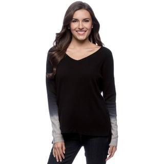 Ply Cashmere Women's V-Neck Pullover