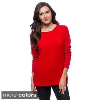 Ply Cashmere Women's Scoop Neck Pullover