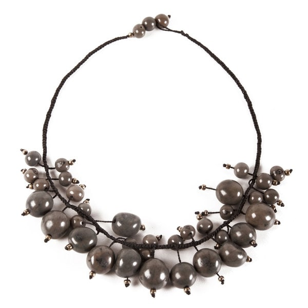 Soft Grey Cloud Forest Choker (Ecuador)