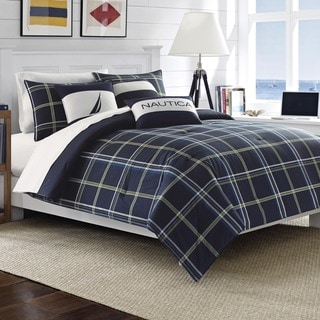 Nautica Barrett Reversible Cotton 3-piece Comforter Set