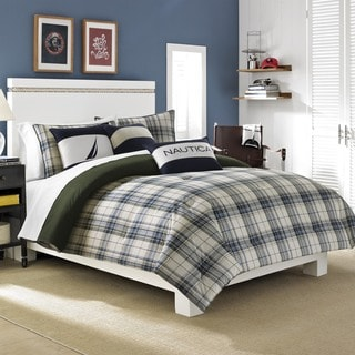 Nautica Blake Reversible Cotton 3-piece Comforter Set