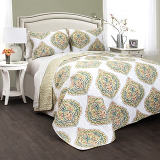 Lush Decor Sylvia 3-piece Quilt Set