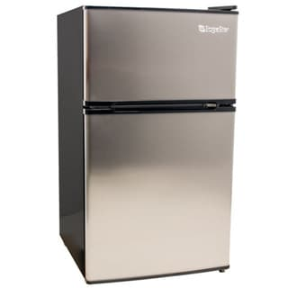 EdgeStar 3.1-cubic-foot Stainless Steel Energy Star Fridge/ Freezer