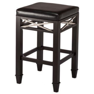 La Vista Non-Swivel Backless Stool with X Design