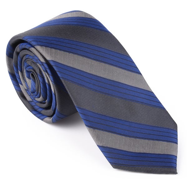 Calvin Klein Men's Silk Striped Tie