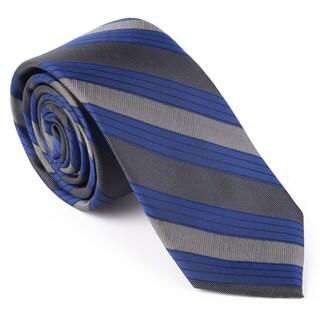 Calvin Klein Men's Silk Striped Tie