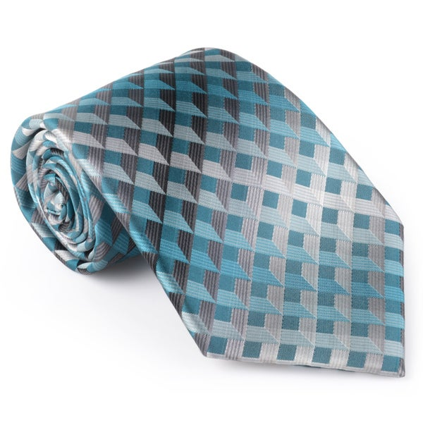 Van Heusen Men's Silk Plaid Tie