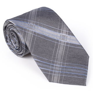 Calvin Klein Men's Silk Touch Microfiber Plaid Tie