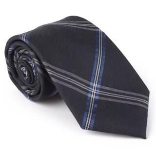 Calvin Klein Men's Silk Touch Microfiber Patterned Tie