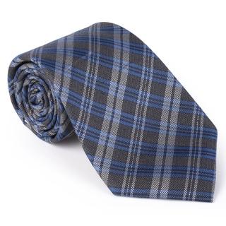 Calvin Klein Men's Silk Touch Microfiber Plaid Tie